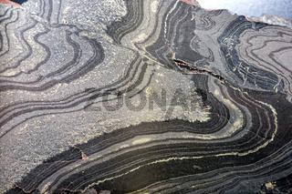Banderz mit dünner Pyrit-Lage