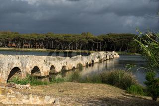 Römische Brücke bei Fertilia, Sardinien