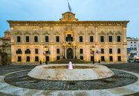 The Auberge de Castille,Valletta,Malta