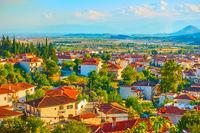Kalambaka town in Thessaly