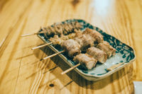 japanese food in izakaya restaurant