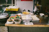 street kitchen in Shanghai china