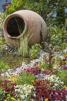 Still life in the spa gardens of Merano