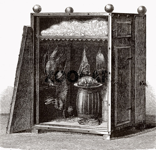 Traditional cold store, 19th century