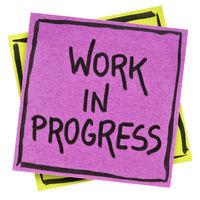 Work in progress note