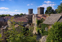 La Couvertoirade - La Couvertoirade a Medieval fortified town in France