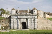 town gate in Palmanova