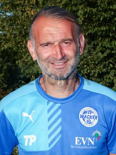 Torwarttrainer Tomislav Piplica FSV Wacker 90 Nordhausen NOFV-Regionalliga Nordost, Saison 2016/17