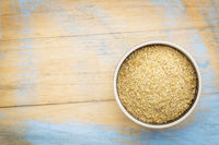 golden flaxseed meal