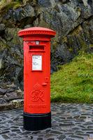 British mail box in Edinburgh