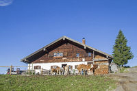 Schweinsteiger hut in Wendelstein mountains
