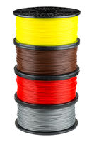 Four ABS or PLA filament coils