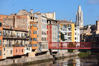City of Girona Cityscape