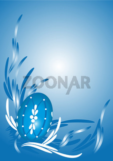Hintergrund mit Osterei- Ester egg background