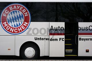 Mannschaftsbus FC Bayern München
