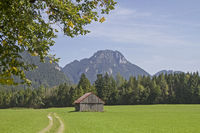 Laber in the Ammergau alps