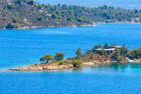 Sithonia coast, Chalkidiki, Greece.