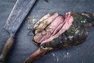 Barbecue Haunch of Venison