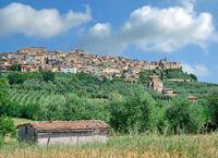 Health Resort of Chianciano Terme in Siena Province,Tuscany,Italy
