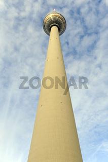 Berliner Fernsehturm auf dem Alexanderplatz