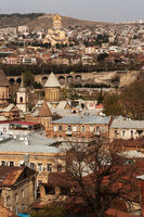 roofs and domes of Tbilisi
