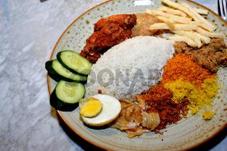 Indonesian rice mix