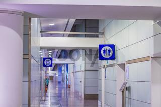 public bathrooms entry
