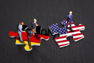 Beziehungen zwischen Deutschland und den USA