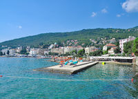 Opatija at adriatic Sea,Kvarner,Croatia