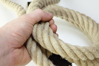 rope on hand