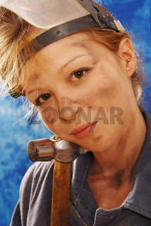 young working woman