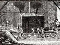 French foundry in the 17th century