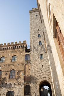 Torre Grosso, höchster Turm von  San Gimignano, Italien