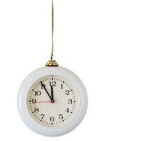 Christmas ball - clock