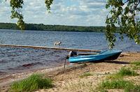 Lake Kenozero .