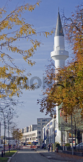 Minarett, Mevlana Moschee Konstanz
