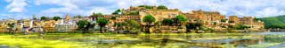 Maharajah Palace in Udaipur city, India