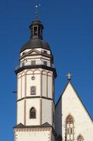 Leipzig - Thomaskirche (St. Thomas Church), Germany