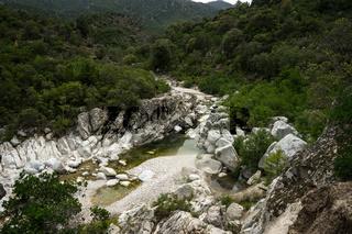 Wanderung durch die Schlucht Gorropu, Sardinien