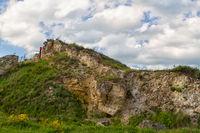 Russian Caucasus green mountains