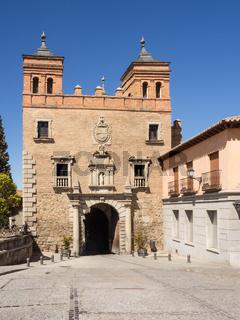 Stadttor Puerta del Cambron, Toledo, Spanien