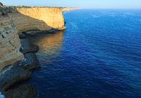 Summer Atlantic rocky coastline (Portugal).