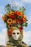 Maske Blumenwiese 1