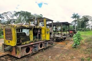 Plantagenbahn der ehemaligen Zuckerplantage Marienburg Suriname
