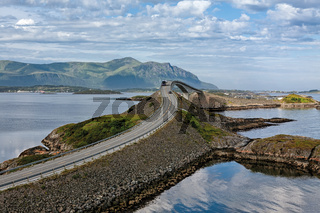 Atlantic road in Hulvagen, Norway