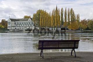 Blick von der Seestraße Konstanz