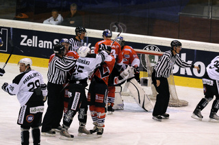 Hockey game TPS Turku vs. Eisbaeren Berlin
