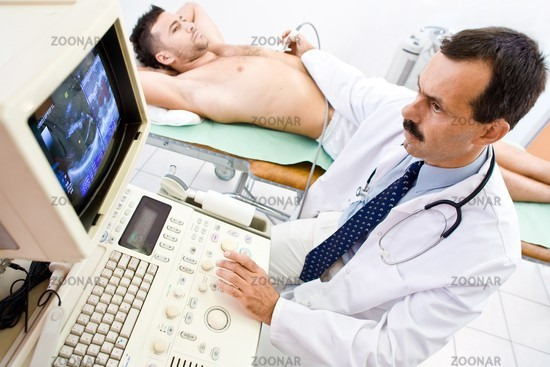 Ultrasonic scan