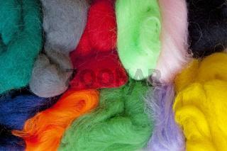 Märchenwolle / colourful wool