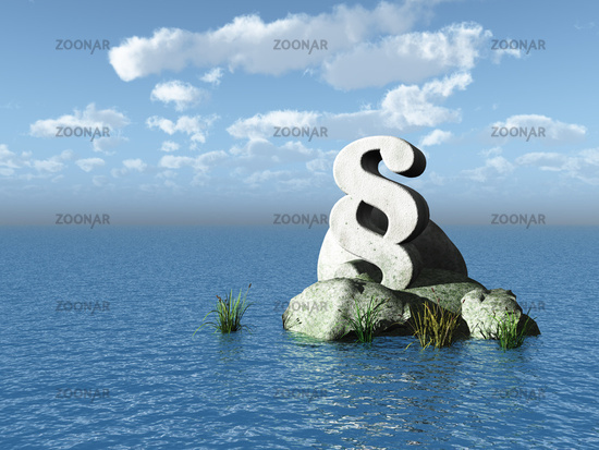 wasser 3d illustration